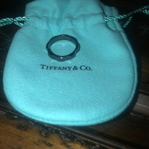 Tiffany & Co. Jewelry - Authentic Titanium Tiffany & Co Paloma Ring